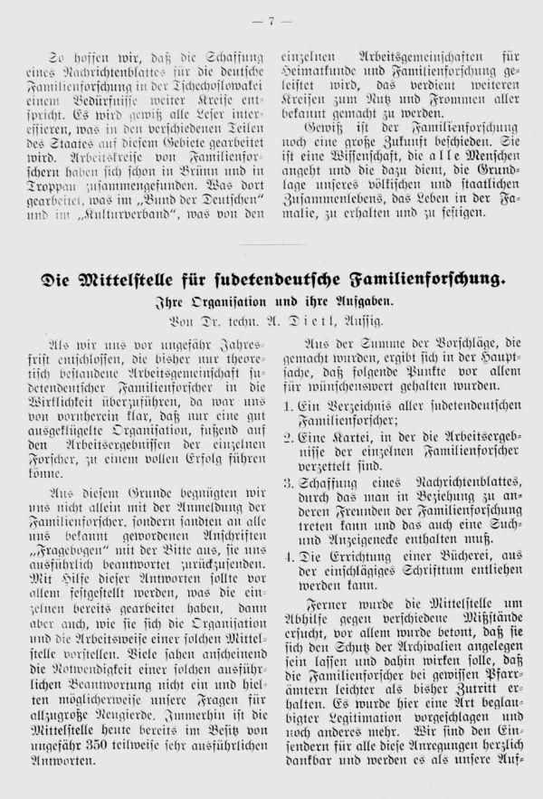 Sudetendeutsche Mittelstelle -  1