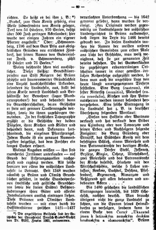 Geschichtlichesquellen der mährischen Heimat- und Familienforschung - 2