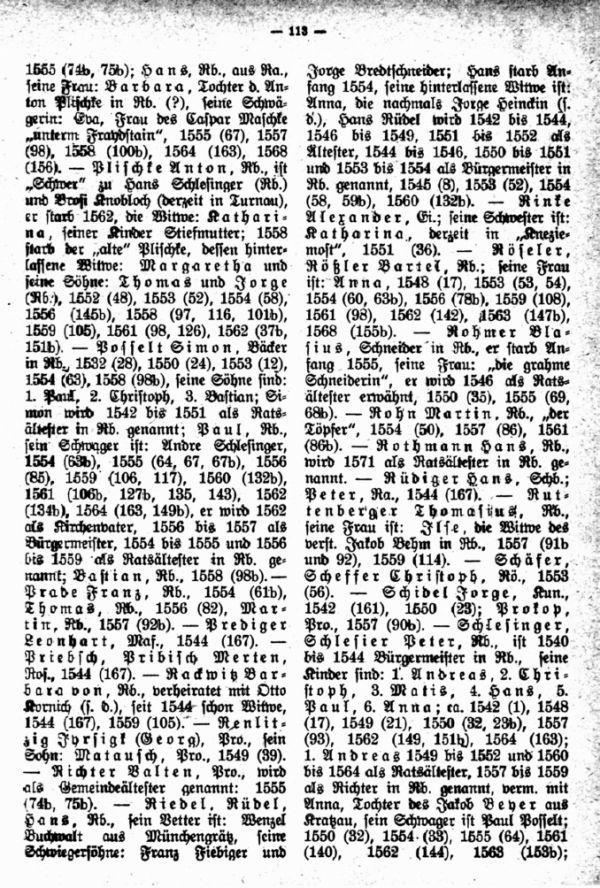 Quellen zur Familiengeschichte des Jeschken-Isergaues. 1. Das älteste Stadtbuch von Reichenberg - 2