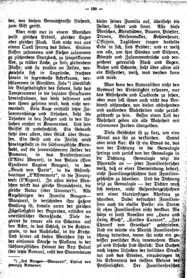 Dichtung und Genealogie - 2
