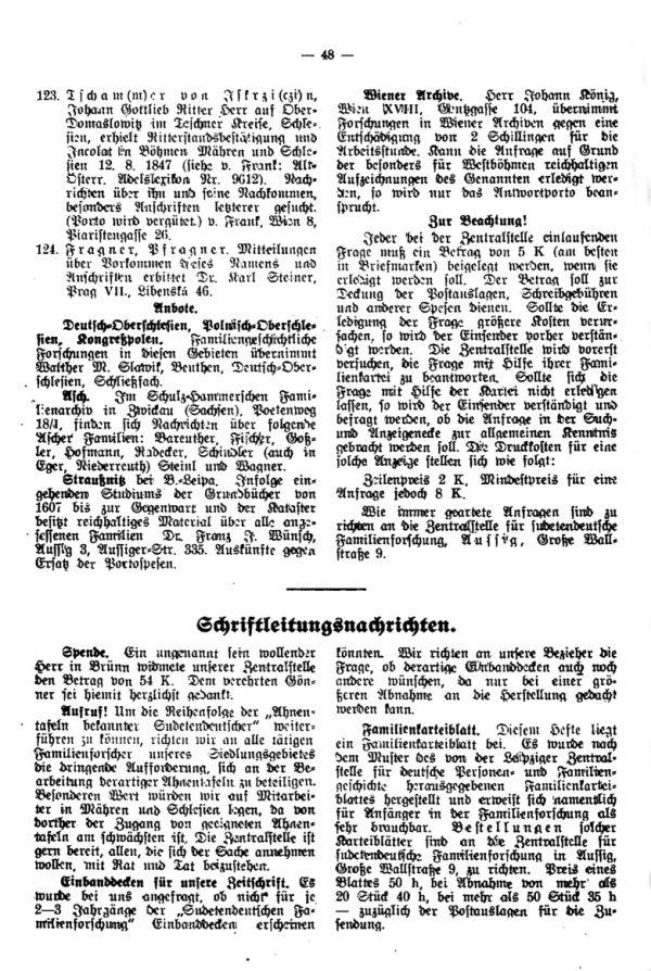 Gründung der Arbeitsgemeinschaft der Heimatfreunde in Niemes