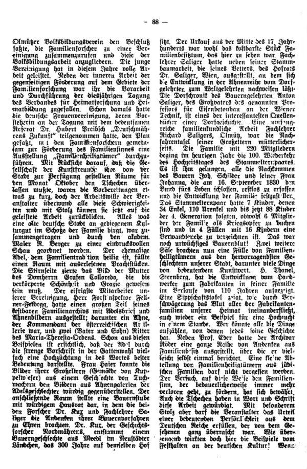 Olmütz, Ausstellung: Familienheiligtümer - 2