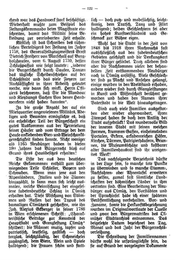 Olmützer Neubürger aus Böhmen, Mähren, Schlesien u. der Slowakei 1668-1848 - 3
